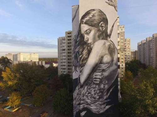 Shelter - a warm and tender embrace in Kiev - Ukraine