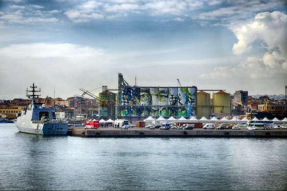 A Catania il più grande murales del mondo