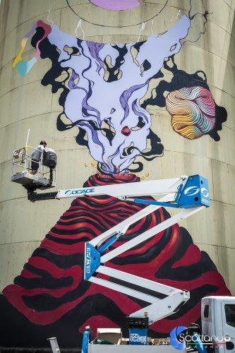L' Oracolo - Street Art Silos - Catania