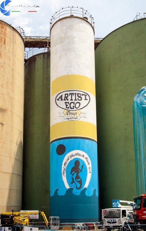 Barattoli - Street Art Silos - Catania