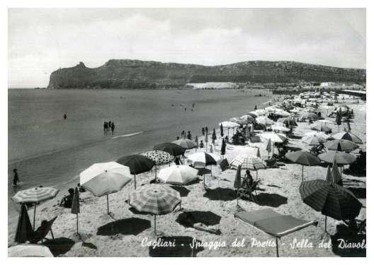 Poetto Amarcord: Una sequenza di foto storiche straordinarie