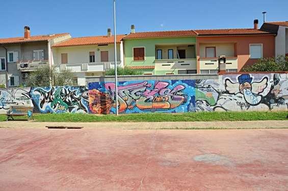 Raccolta di opere di Street Art - San Sperate - Sardegna
