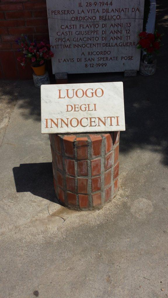 Luogo degli innocenti e statue