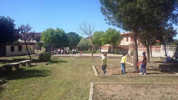 Piazza Grazia Deledda (ex piazza buia) - San Sperate
