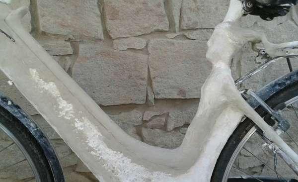 Diana e il cervo - Scultura mobile per le vie di San Sperate