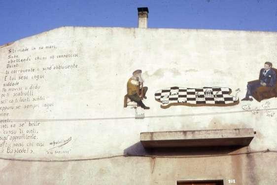 Partita a scacchi - San Sperate - Sardegna