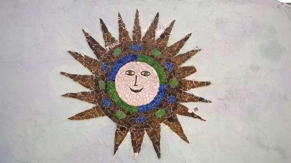 Sole in vetro - San Sperate - Sardegna