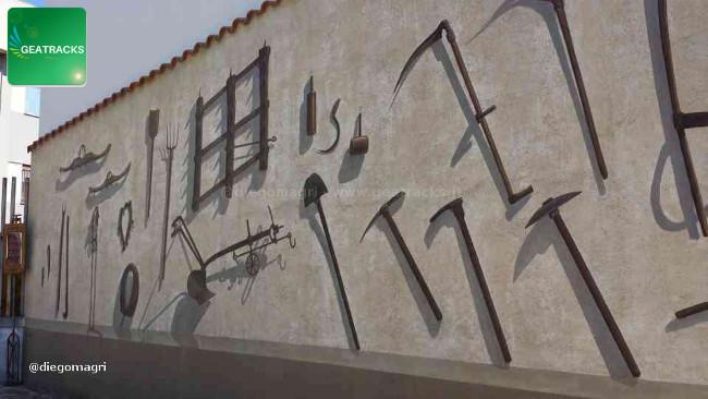 Dedicato alla civiltà contadina - San Sperate - Sardegna