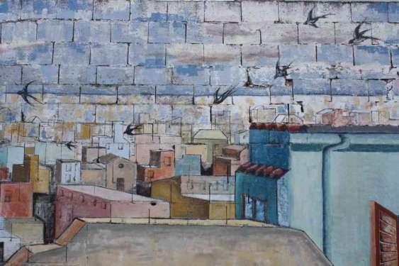 Vista a volo di uccello - San Sperate - Sardegna