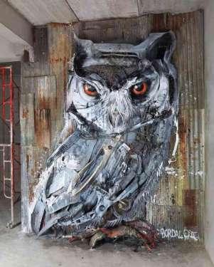 Raw bear - quando i rifiuti diventano opere artistiche