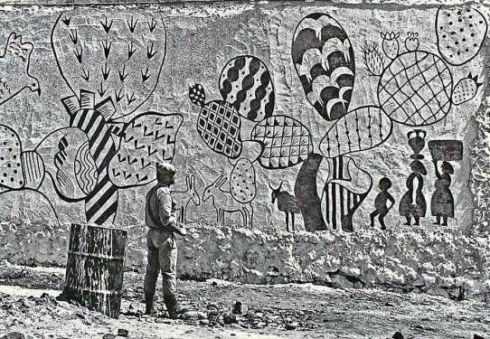 Fichi d'India - il primo graffito ufficiale del Paese Museo