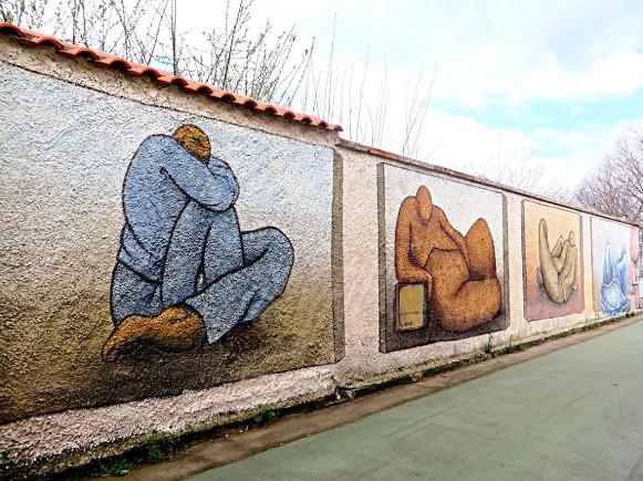 Figure umane - San Sperate - Sardegna