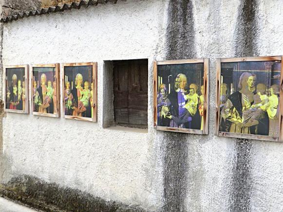 Installazione fotomuralistica - San Sperate - Sardegna