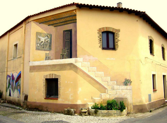 Trompe l'oeil - San Sperate - Sardegna