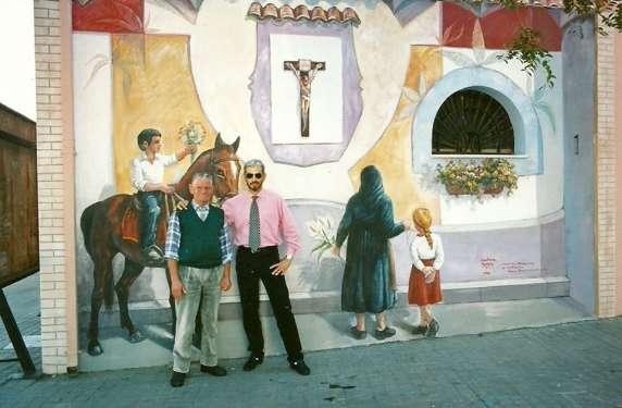 Omaggio al Cristo - San Sperate - Sardegna