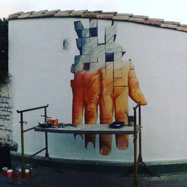 Omaggio Hu-mans a Pinuccio Sciola - San Sperate - Sardegna