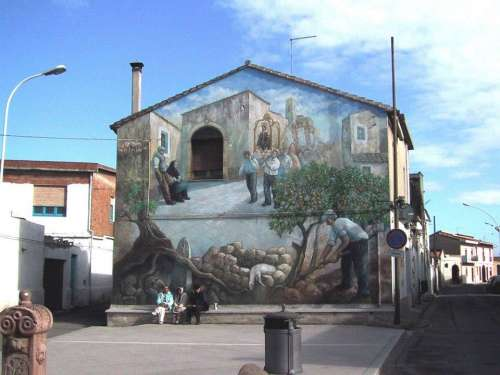 Il Santo Patrono - San Sperate - Sardegna