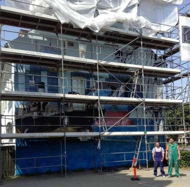 Storia ed evoluzione delle navi merci - Helsingor, Danimarca