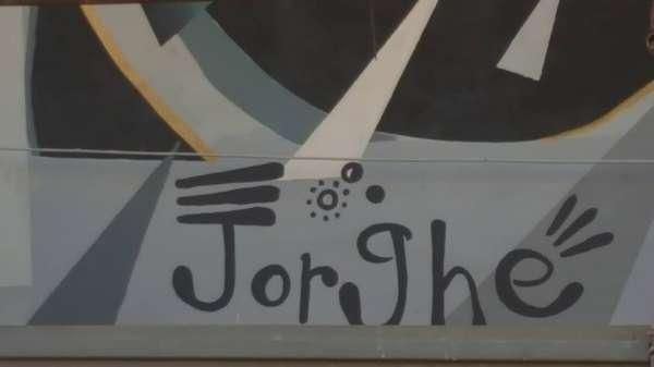 Don Chisciotte - La terza imponente opera muraria di Jorghe