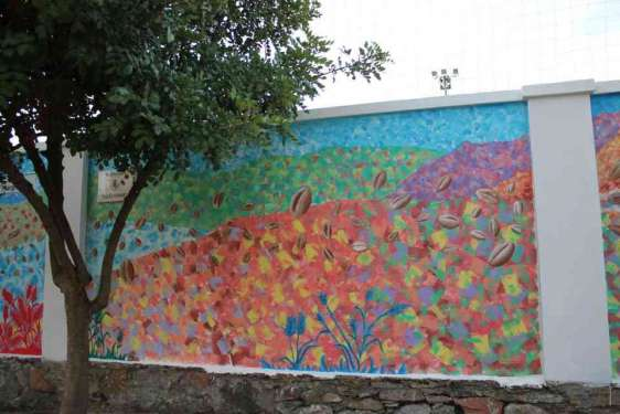 San Nicolò Gerrei: Is argiolas (trebbiatura)
