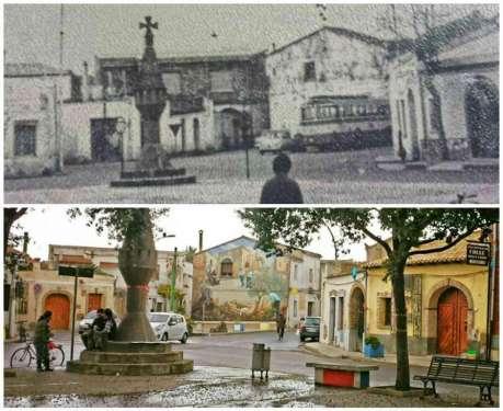 Grande Croce di Piazza Croce Santa, San Sperate