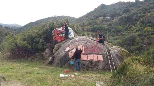 Il pastore a riposo - Orgosolo - Nuoro - Sardegna