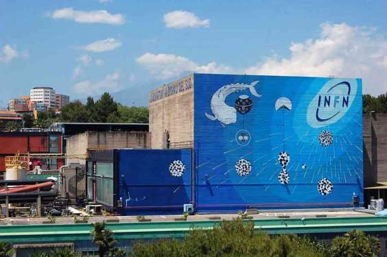 Omaggio all'Istituto Nazionale di Fisica Nucleare (INFN)