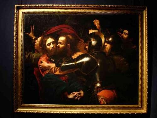 La cattura di Cristo - Caravaggio - Varese