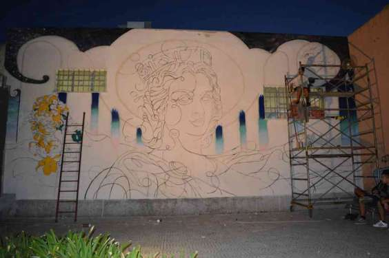 The gardens - Eleonora d'Arborea tribute - San Gavino