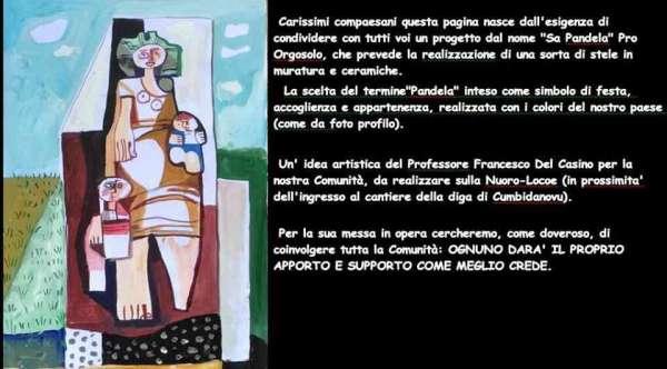 Pandela - una nuova maestosa opera di benvenuto ad Orgosolo