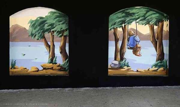 Castel Gandolfo in sei nicchie - Street Art Festival