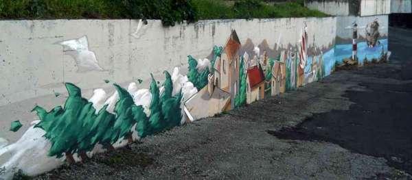 Un viaggio onirico a Castel Gandolfo - Street Art Festival