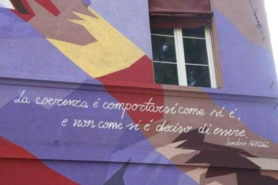 Omaggio a Irma Bandiera, simbolo della Resistenza - Bologna