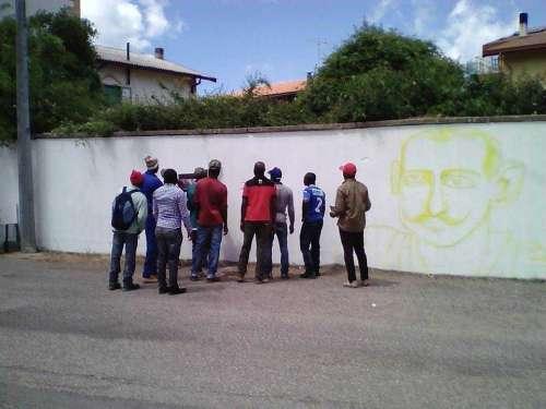 Tonara: Rivive lo storico e amato murale di Peppino Mereu