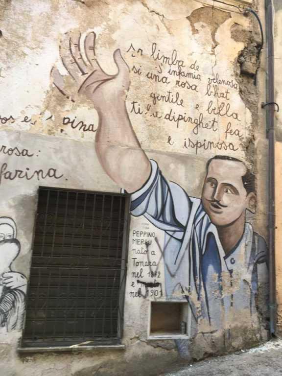 L'omaggio di Orgosolo al poeta di Tonara Peppino Mereu