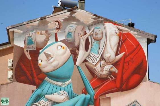 Cercarsi negli altri - Nuova opera per San Gavino Monreale