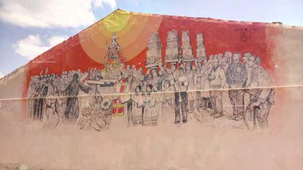 Accettura: San Giuliano Martire in processione per il Maggio