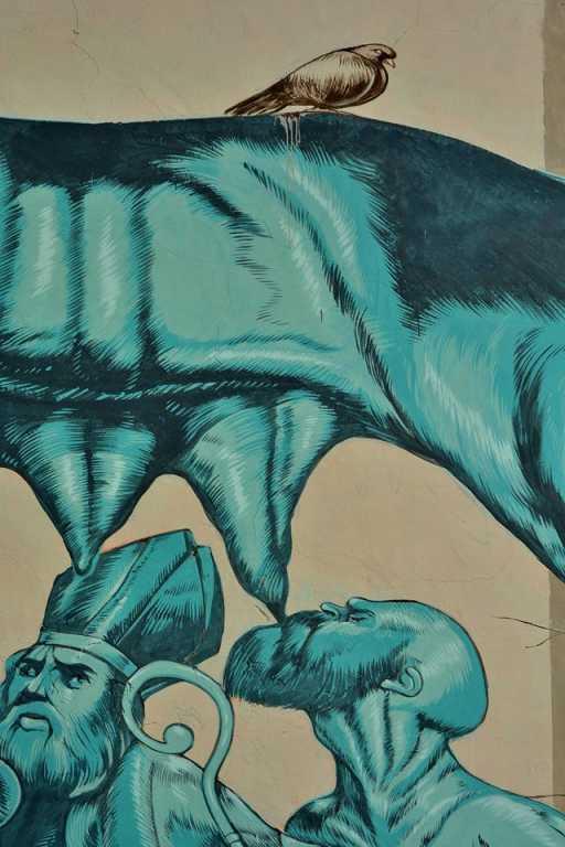 Roma: Al Pigneto la lupa di Zamoc per Suburra - Netflix