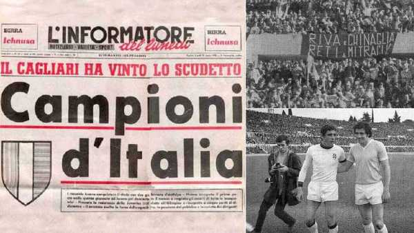 San Gavino omaggia Gigi Riva e lo scudetto del Cagliari 1970