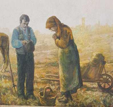 La preghiera - San Sperate - Sardegna