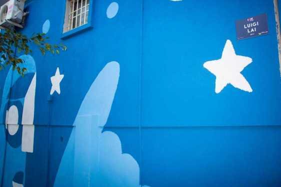 Un insolito gigante per l'ExMè Art Festival - Pirri