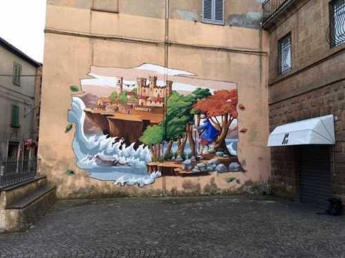 Il mondo fiabesco - Urban Vision - Acquapendente