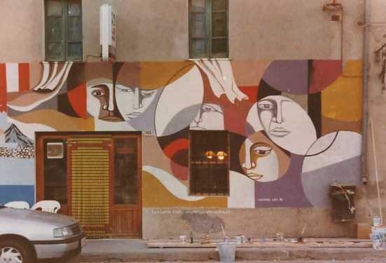 Villamar: Un altro storico murale di protesta - Luciano Lixi