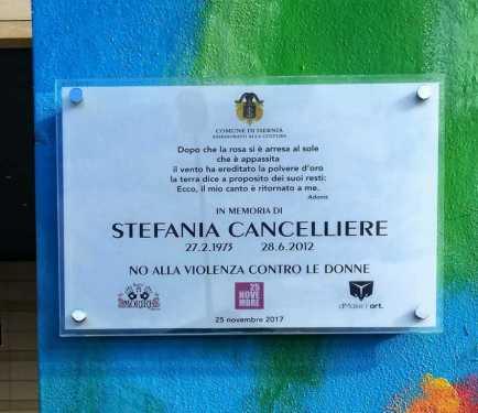 Stefania Cancellieri - FermArti contro il femminicidio