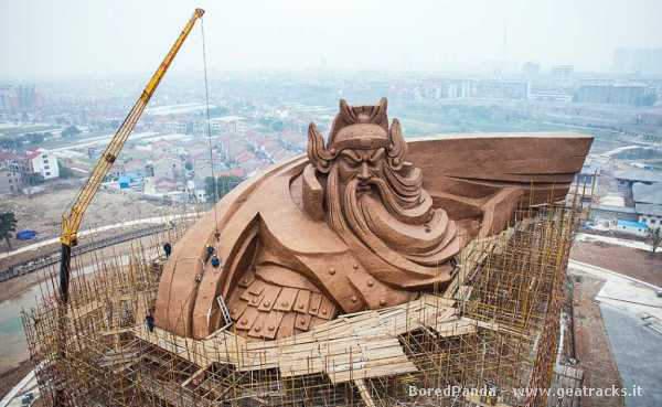 Cina: Guān Yǔ, un imponente Dio della Guerra come museo