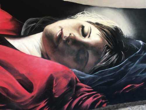 La morte della Vergine - Castel Gandolfo Street Art Festival
