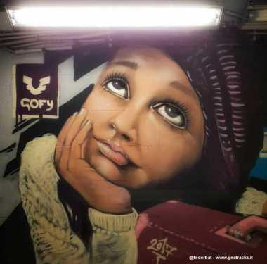 """Treni, viaggi e pensieri - Lo street artist """"ambientalista"""""""