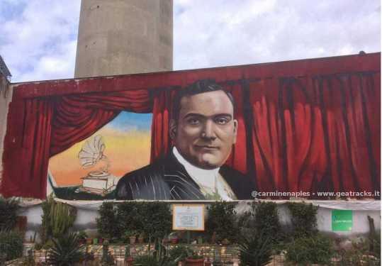 Napoli: un murale per onorare il grande tenore Enrico Caruso