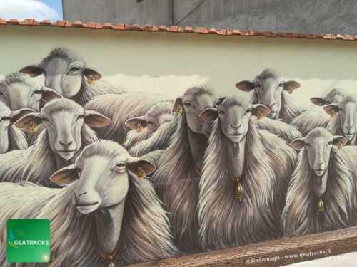 San Gavino: Un murale come spunto di riflessione
