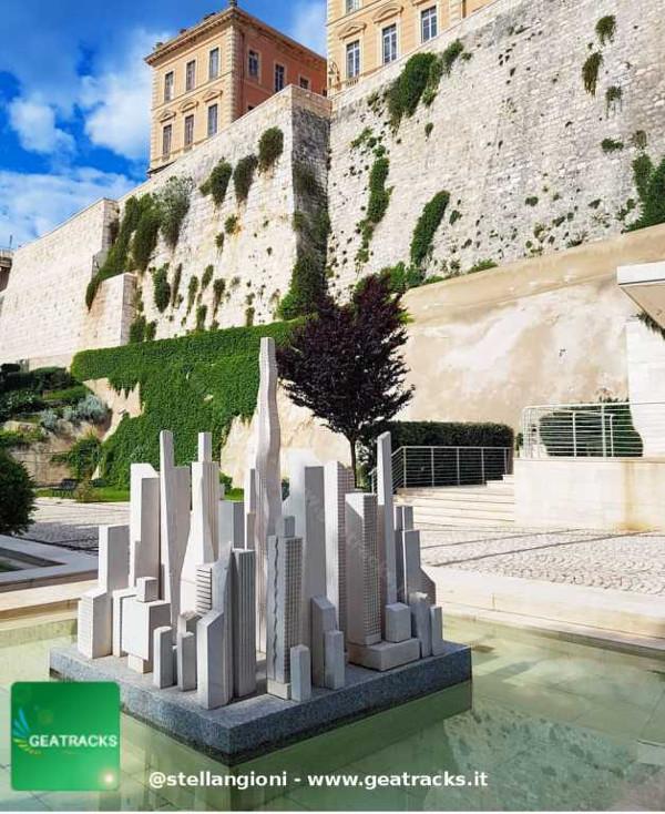 La città arroccata di Castello - Cagliari - Sardegna